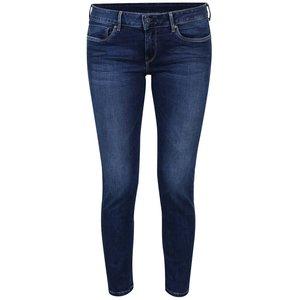Pepe Jeans, Blugi albastru închis slim fit Pepe Jeans Soho