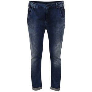 Pepe Jeans, Blugi boyfriend albastru închis Pepe Jeans Topsy