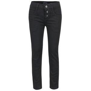 Pantaloni Negri Pentru Baieti Blue Seven Cu Nasturi Decorativi