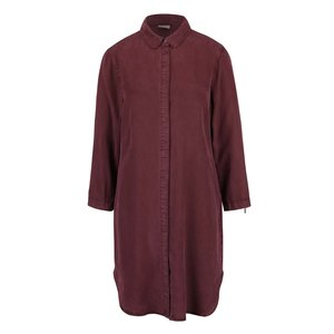 Vero Moda, Rochie cămașă roșu burgund Vero Moda Alexia