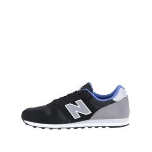 New Balance, Pantofi sport gri cu negru New Balance 373 de bărbați
