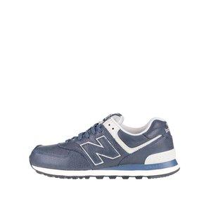 Pantofi sport crem cu albastru New Balance 574 de bărbați