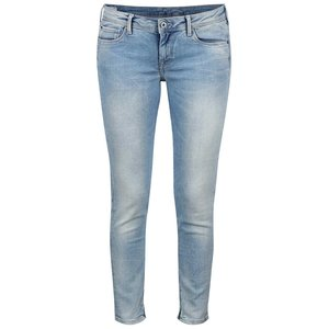 Blugi albastru deschis slim fit Pepe Jeans Cher