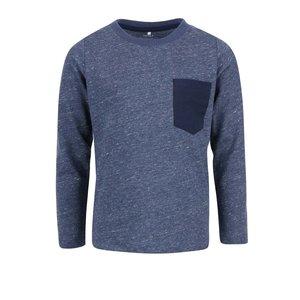 Bluză albastră name it Seppe cu model discret