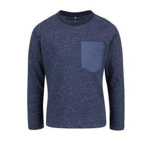 Bluză albastru închis name it Seppe cu model discret pentru băieți