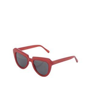 Ochelari de soare roșii Komono Stella de femei
