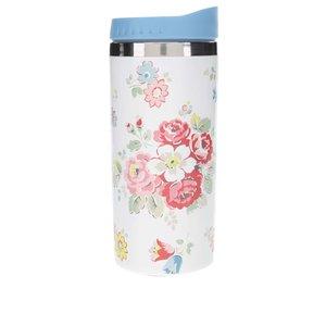 Cană termo albă cu motiv floral Cath Kidston