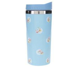 Cană termo albastră cu motiv floral Cath Kidston