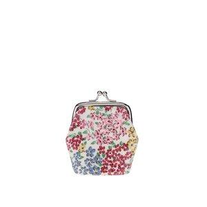 Portmoneu crem Cath Kidston cu model floral