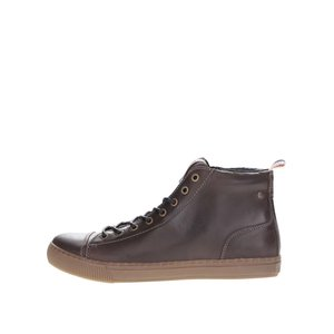Jack & Jones, Ghete din piele Jack & Jones Duran maro