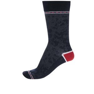 Șosete bleumarin Jack & Jones Digger cu detalii roșii