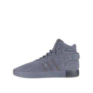 adidas Originals, Pantofi sport gri Adidas Originals Tubular Invader