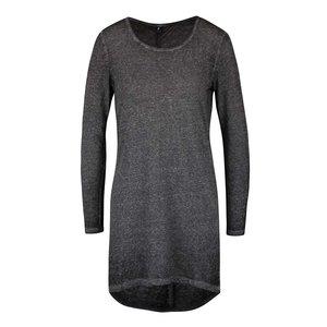 ONLY, Bluză gri melanj asimetrică ONLY Lucca