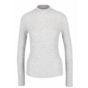 Bluză gri deschis cu nervuri ONLY Great Ripena