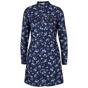 Rochie tip cămașă albastră Dorothy Perkins cu imprimeu la pretul de 144.99