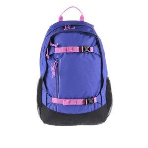 Rucsac negru cu albastru Burton Hiker cu detalii roz
