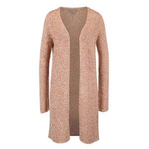 Cardigan lung Vero Moda Jive roz melanj