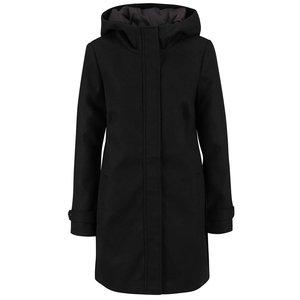 Palton negru Vero Moda Mialiga cu glugă la pretul de 274.99