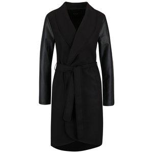 Jachetă lungă VILA Ida neagră