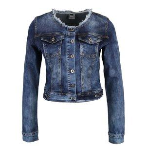 Jachetă albastră din denim ZOOT Now cu aspect prespălat