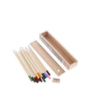 Kikkerland, Set de creioane colorate Kikkerland