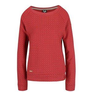 Bluză roșie Ragwear Kind Dots cu buline la pretul de 314.99