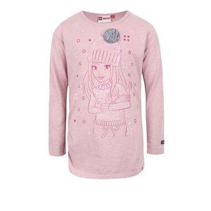 Bluză roz pal LEGO Wear Tamara