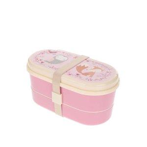 Sass & Belle, Cutie roz pentru gustări Sass & Belle cu model animale