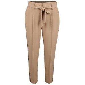 Pantaloni bej Dorothy Perkins cu cordon în talie de la Zoot.ro