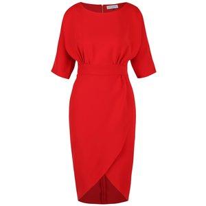 Closet, Rochie roșie Closet cu fustă lalea