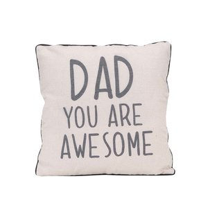 Pernă crem Sass & Belle Dad you are awesome la pretul de 73.99