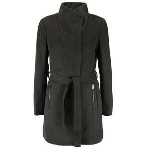 Palton kaki Vero Moda Call cu cordon în talie la pretul de 205.0
