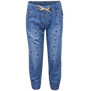 Pantaloni denim 5.10.15 cu imprimeu cu stele