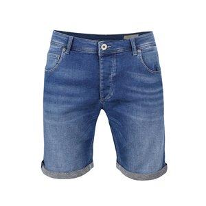 Pantaloni scurți albaștri Selected Homme Pep din denim