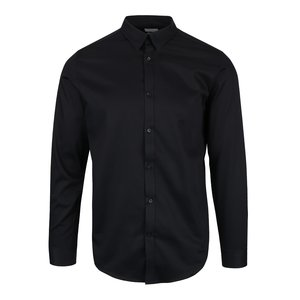 Selected, Cămașă neagră Selected Homme Done slim fit