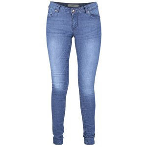 Blugi albaștri Vero Moda Five slim fit