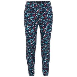 Blue Seven, Pantaloni bleumarin Blue Seven cu model înflorat pentru fete
