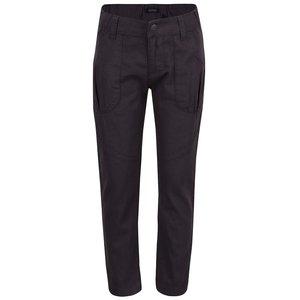 Pantaloni gri închis Blue Seven din bumbac pentru fete