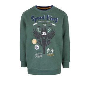 Bluza Verde Inchis Blue Seven Din Bumbac Pentru Baieti