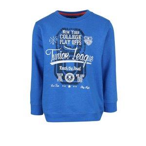 Blue Seven, Bluză albastră Blue Seven din bumbac pentru băieți