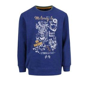 Bluza Bleumarin Blue Seven Din Bumbac Pentru Baieti