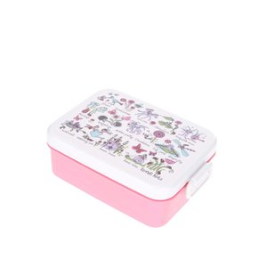 Tyrrell Katz, Cutie pentru gustări roz-crem Tyrrell Katz Secret Garden pentru fete