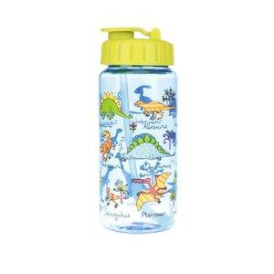 Sticlă galben-albastru Tyrrell Katz Dinosaurus pentru băieți