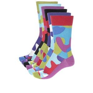 Set 6 Sosete Oddsocks Cu Model Multicolor Pentru B