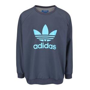 adidas Originals, Bluză sport gri petrol adidas Originals cu logo