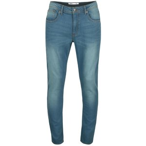 Blugi slim-fit Burton Menswear cu aspect prespălat de la Zoot.ro