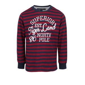 North Pole Kids, Bluză roșie & albastră North Pole Kids pentru băieți