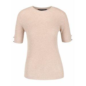 Dorothy Perkins, Tricou bej Dorothy Perkins din material tricotat