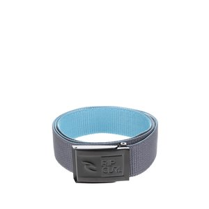 Curea gri Rip Curl Ripper Revo Webbed Belt