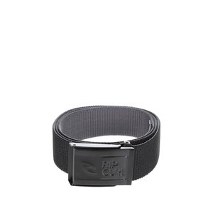 Curea neagră Rip Curl Ripper Revo Webbed Belt